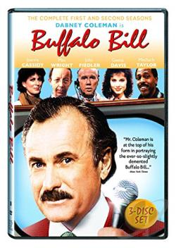 Buffalo Bill - The Complete First & Second Seasons DVD Cover Art