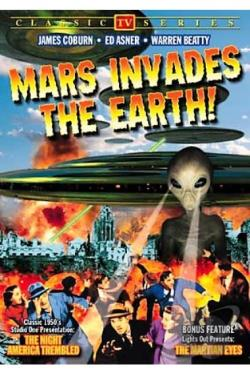 Mars Invade The Earth: The Night America Trembled/The Martian Eyes from Lights Out DVD Cover Art
