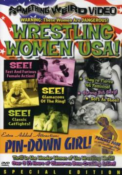 Wrestling Women USA! DVD Cover Art