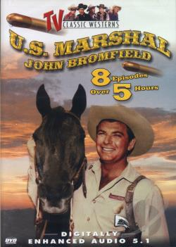 TV Classic Westerns - U.S. Marshal DVD Cover Art