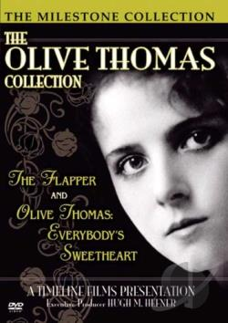 Olive Thomas Collection - The Flapper/Olive Thomas: Everybody's Sweetheart DVD Cover Art
