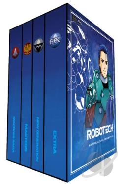Robotech - Protoculture Collection DVD Cover Art