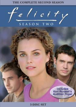 Felicity - Season 2 DVD Cover Art