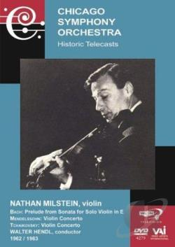 Nathan Milstein - In Performance with The Chicago Symphony Orchestra DVD Cover Art