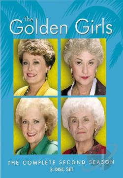 Golden Girls - The Complete Second Season DVD Cover Art