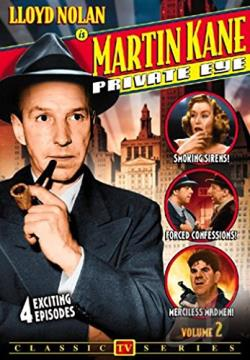 Martin Kane Private Eye - Vol. 2 DVD Cover Art