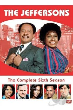 Jeffersons - The Complete Sixth Season DVD Cover Art