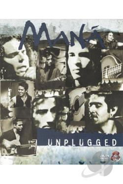 Mana - MTV Unplugged DVD Cover Art
