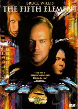 Fifth Element DVD Cover Art