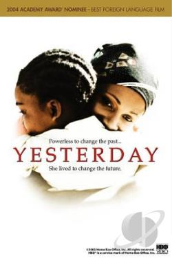 Yesterday DVD Cover Art