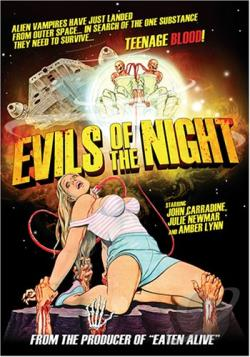 Evils of the Night DVD Cover Art