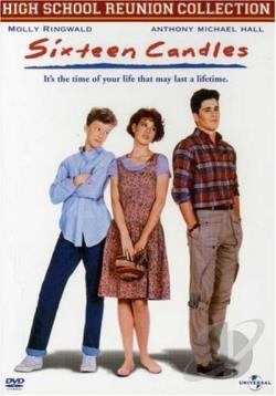 Sixteen Candles DVD Cover Art