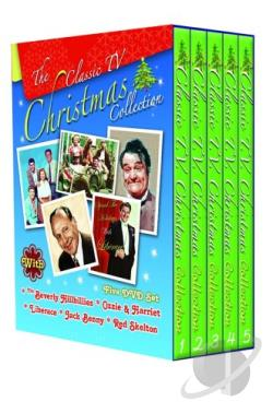 Classic TV Christmas DVD Cover Art