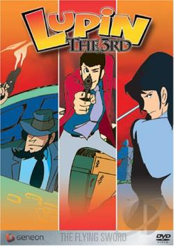 Lupin The 3rd - Vol. 12: The Flying Sword DVD Cover Art