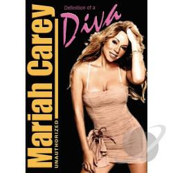 Mariah Carey Unauthorized - Definition of A Diva DVD Cover Art