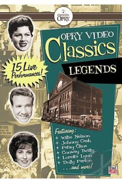 Opry Video Classics - Legends DVD Cover Art