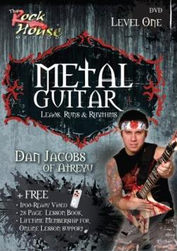Metal Guitar Leads Runs & Rhythms - Level 1 DVD Cover Art