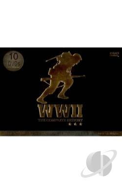 WWII - The Complete History DVD Cover Art