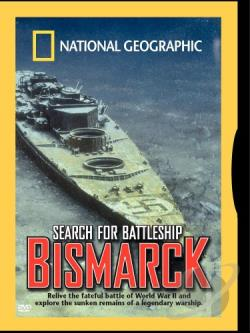 National Geographic - Search for Battleship Bismarck DVD Cover Art