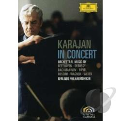 Karajan in Concert DVD Cover Art