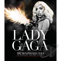 Lady Gaga: The Monster Ball Tour at Madison Square Garden DVD Cover Art