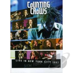 Live In New York City-1997 DVD Cover Art