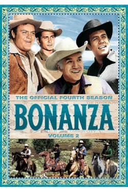 Bonanza: The Official Fourth Season, Vol. 2 DVD Cover Art