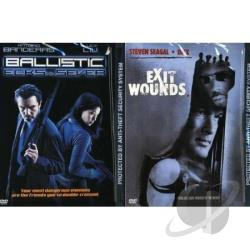 Exit Wounds/Ballistic: Ecks vs. Sever DVD Cover Art