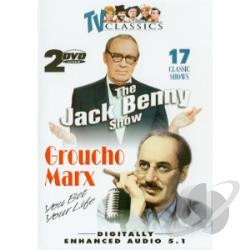 Jack Benny & Groucho Marx DVD Cover Art