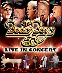 Beach Boys: Live in Concert - 50th Anniversary DVD Cover Ar