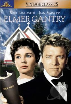 Elmer Gantry DVD Cover Art