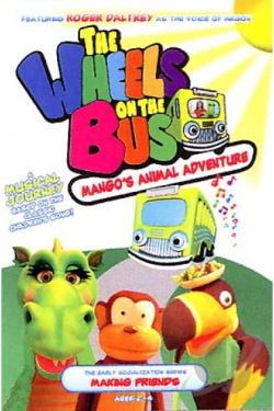 Wheels on the Bus - Mango's Animal Adventure DVD Cover Art