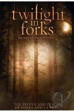 Twilight in Forks: The Saga of the Real Town DVD Cover Art