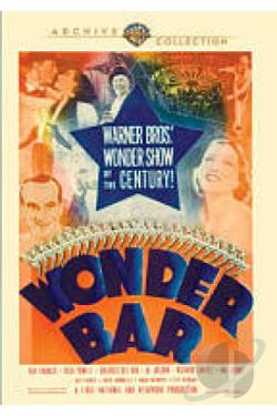 Wonder Bar DVD Cover Art