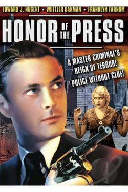 Honor of the Press DVD Cover Art