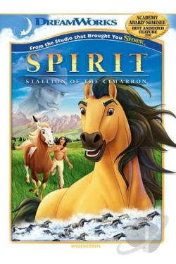 Spirit: Stallion of the Cimarron DVD Cover Art