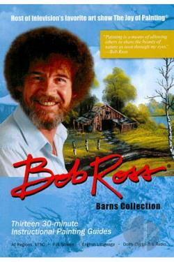 Bob Ross: Barns Collection DVD Cover Art