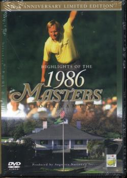 Highlights Of The 1986 Masters Tournament DVD Cover Art