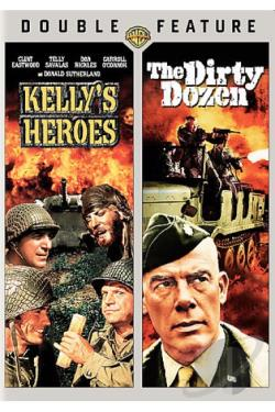 Kelly's Heroes/The Dirty Dozen DVD Cover Art