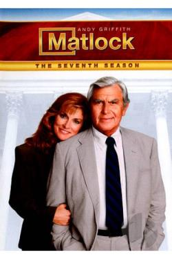 Matlock - The Complete Seventh Season DVD Cover Art