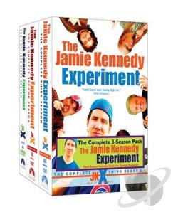 Jamie Kennedy Experiment - The Complete Seasons 1-3 DVD Cover Art