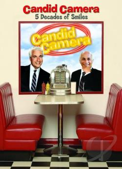 Candid Camera - Five Decades Of Smiles DVD Cover Art