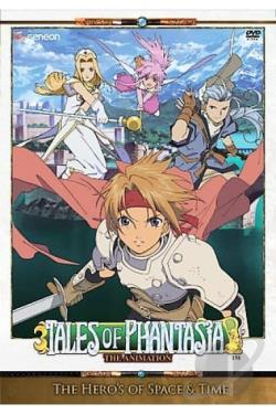 Tales Of Phantasia - The Animation DVD Cover Art