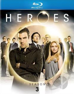 Heroes - The Complete Third Season BRAY Cover Art