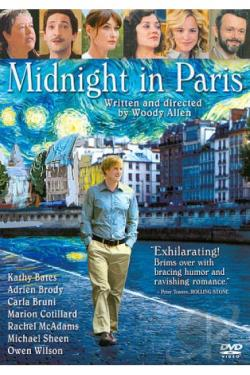 Midnight in Paris DVD Cover Art