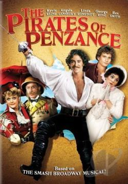 Pirates of Penzance DVD Cover Art