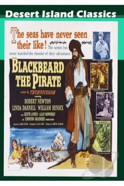 Blackbeard the Pirate DVD Cover Art