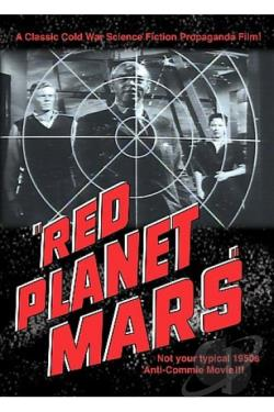Red Planet Mars DVD Cover Art