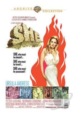 She DVD Cover Art
