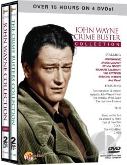 John Wayne Crime Buster Collection DVD Cover Art